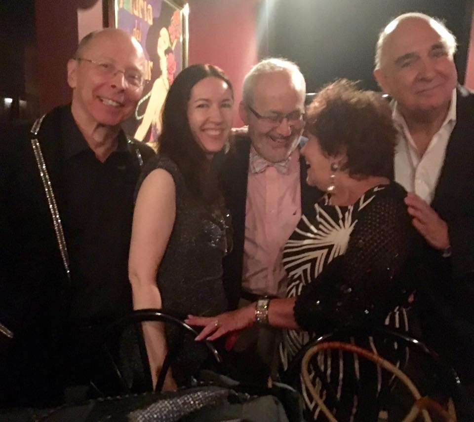 Barry Levitt Class Acts 2016 with D.J. O'Neill, Barry Levitt, Alicia Littman and Lou Iaccovino