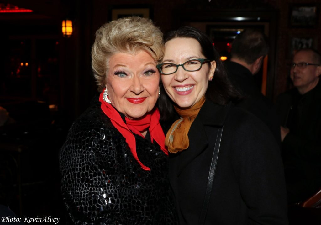 with Marilyn Maye at 54 Below - Photo by Kevin Alvey